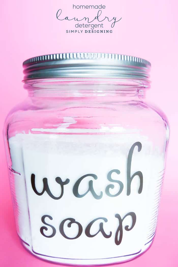Homemade Laundry Detergent Recipe Safe For Your Family And