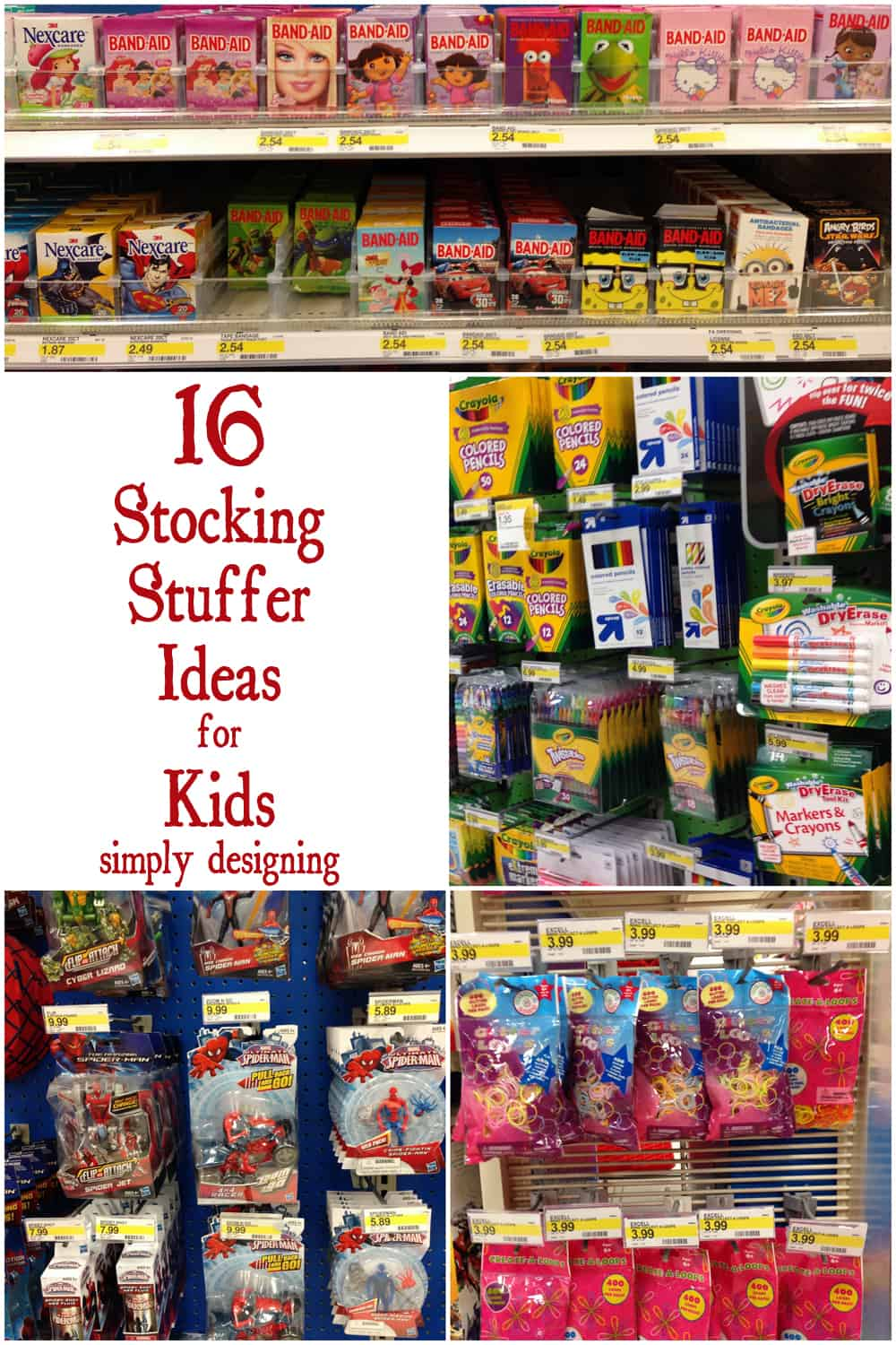 Christmas Stocking Stuffers stocking stuffers for kids + target giveaway #mykindofholiday