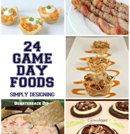 24 Game Day Foods