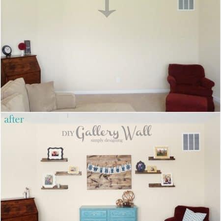 DIY Gallery Wall Reveal