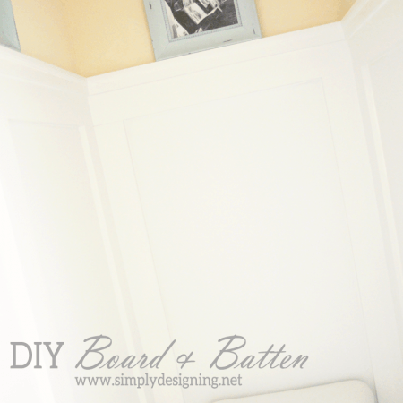 DIY Board and Batten Without Removing Your baseboards