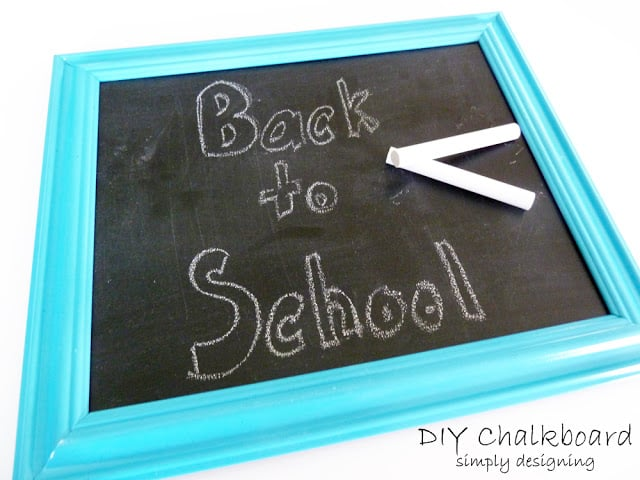 Mini-Chalkboard Gift {Teacher Appreciation Gift}