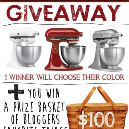 KitchenAid + Our Favorite Things GIVEAWAY