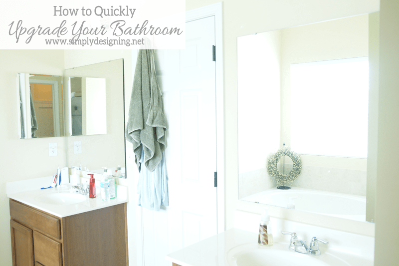 Simple A great way to quickly and affordably upgrade and update your bathroom bathroom