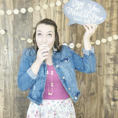 Rustic Glam Wedding Photo Booth
