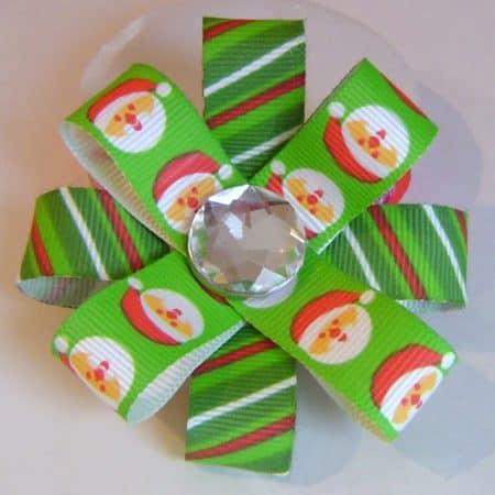 Santa Hair Bows