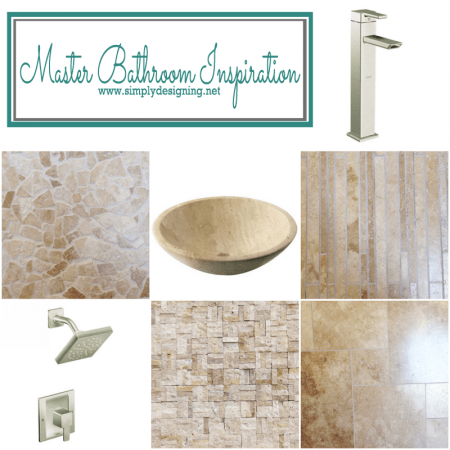 From Builder Blah to Fab: a tale of a master bathroom transformation: Part 1 {Inspiration}