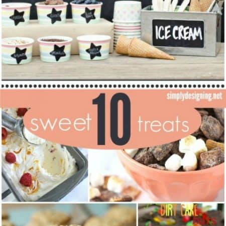 10 Sweet Treats #recipes #desserts