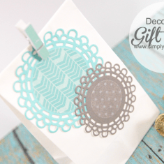 Washi Tape Gift Bag + Silhouette Sales