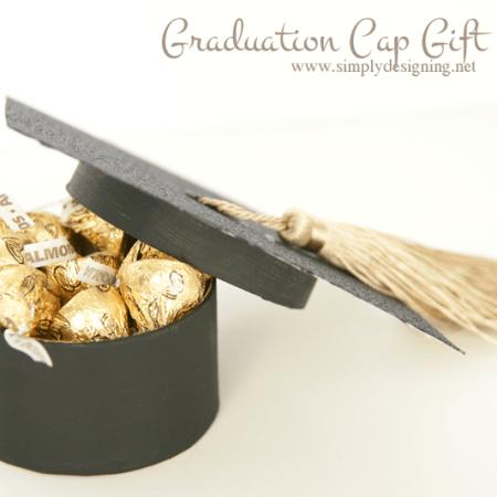 Graduation Cap Gift Box
