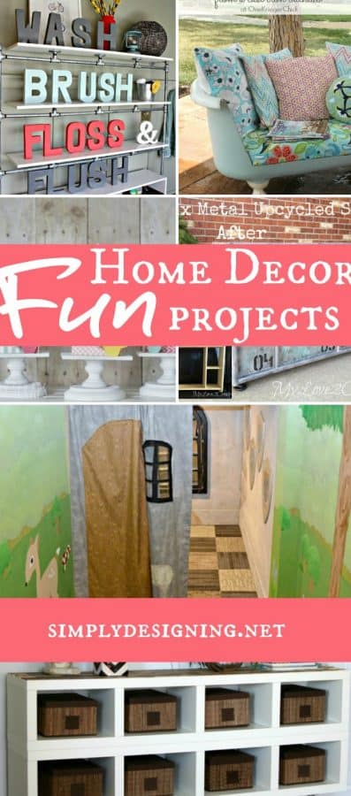 Fun home decor projects for Interesting home decorations
