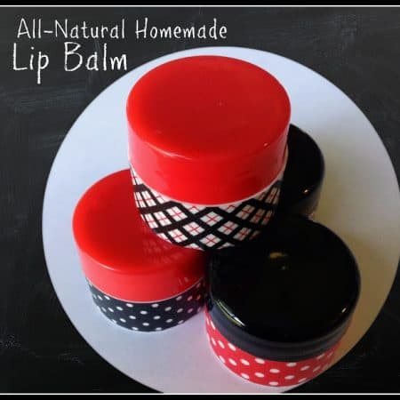 All-Natural Homemade Lip Balm