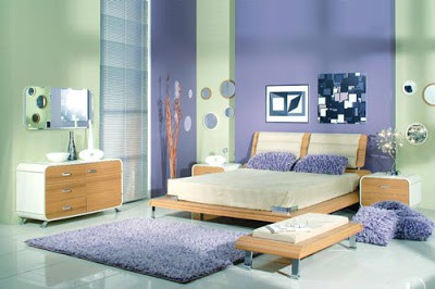 Purple in Tween and Teen Bedrooms