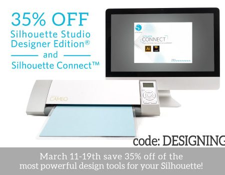 Silhouette Designer Edition Software + Silhouette Connect Sale