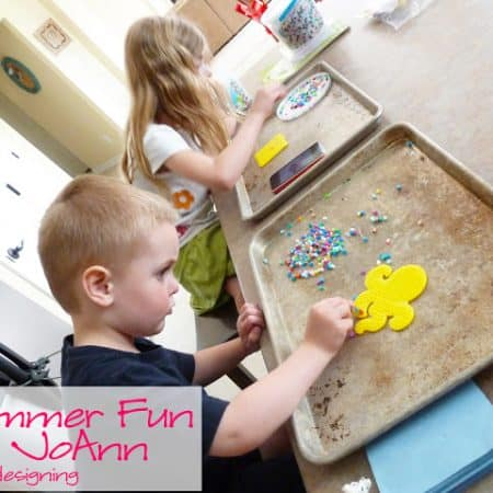 Summer Fun with Perler Bead Necklaces and @JoAnn #summerofjoann #spon