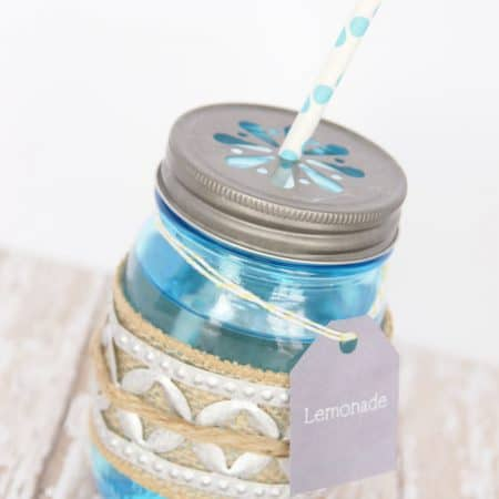 How to Make a Vintage-Style Drink Holder with Ball Mason Jars