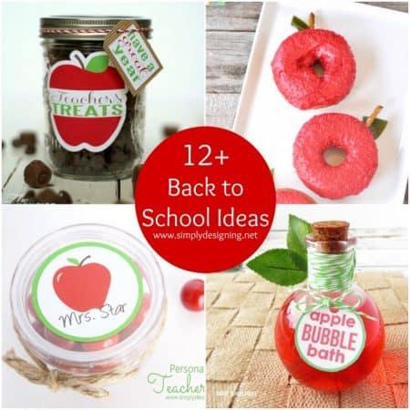 12+ Back to School Ideas