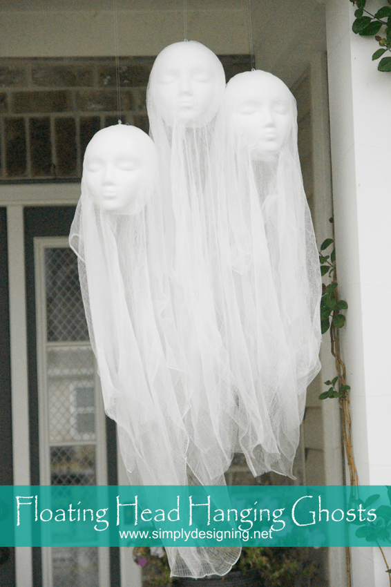 floating head hanging ghosts