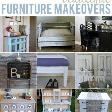 10 Beautiful Furniture Makeovers #furniture #diy