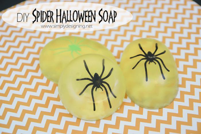 DIY Halloween Soap | #halloween #crafts #soap #fall