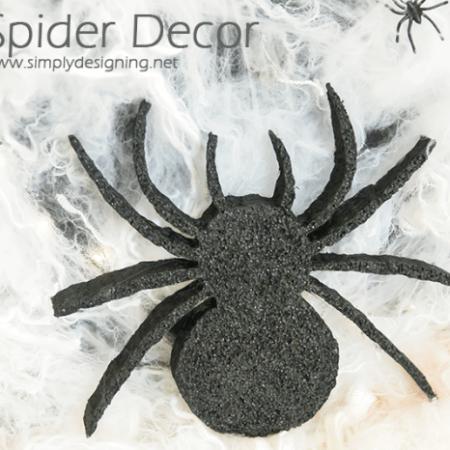 DIY Spider Decor   #halloween #halloweendecor #crafts #spider