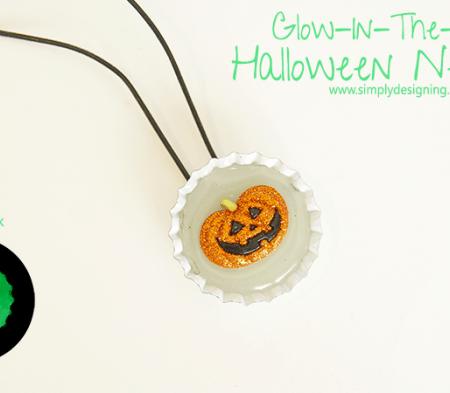 Glow In The Dark Necklace Halloween Craft   #halloween #halloweencraft #craft
