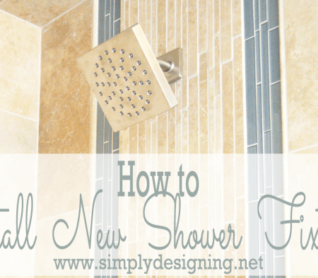 How to Install New Shower Fixtures YouTube