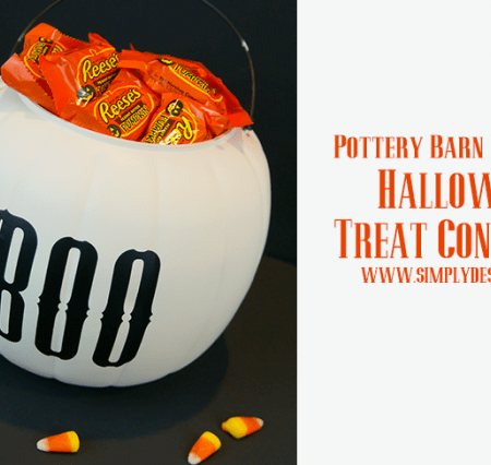 Halloween Treat Containers : Pottery Barn Knock-Off