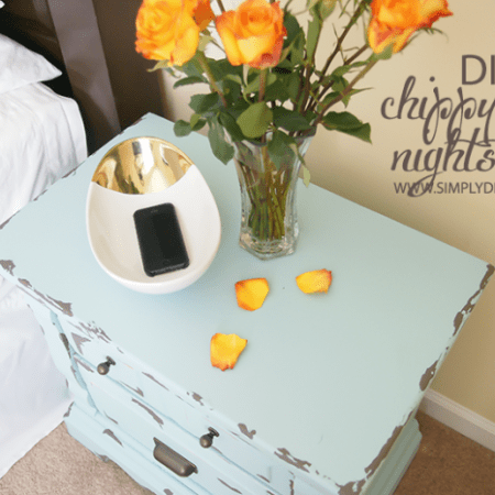 Chippy Paint Nightstands + HomeRight FinishMax Pro Giveaway