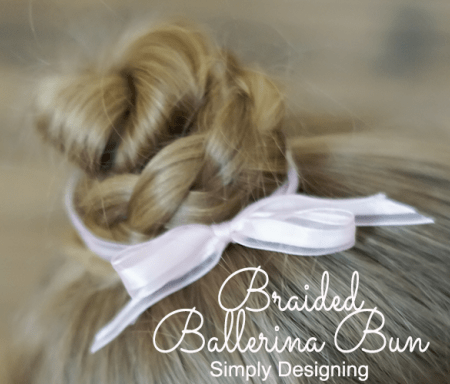 Braided Ballerina Bun