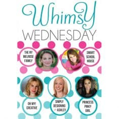 Whimsy Wednesday {139}