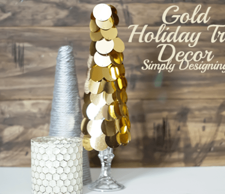 Gold Holiday Tree Decor Featured Image