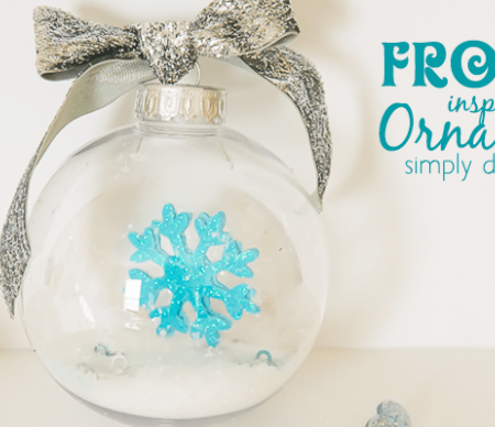 DIY FROZEN Ornament