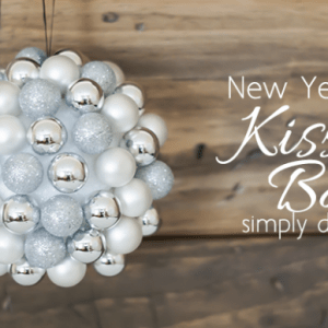 New Year's Eve Kissing Ball Featured Image
