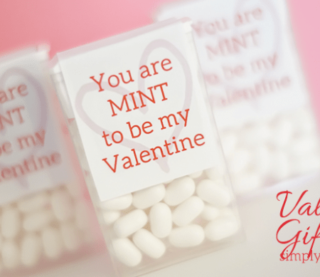 You are MINT to be my Valentine Printable