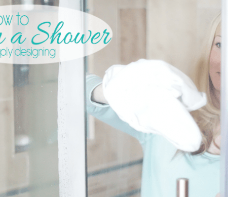 How to Clean a Shower Easily Featured Image