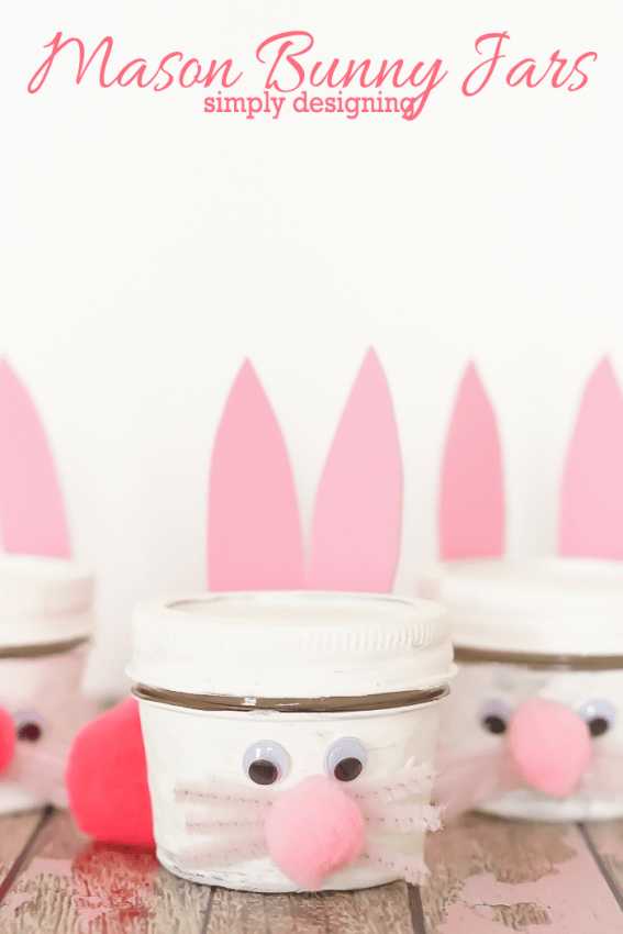 Mason Bunny Jar Craft