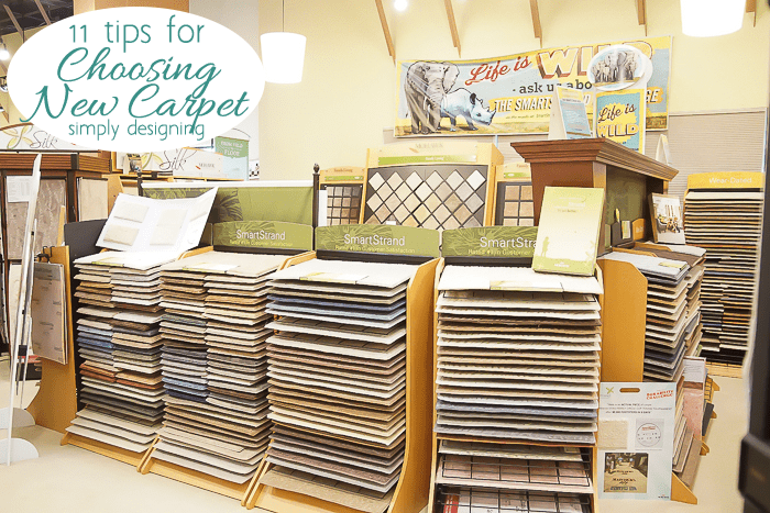 Store with New Carpet Displays to Choose From