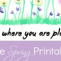 15 FREE Spring Printables