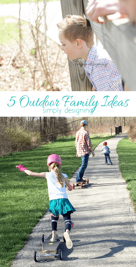 5 Outdoor Family Ideas for Summer