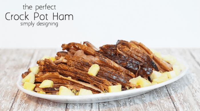 The Perfect Crock Pot Ham Recipe