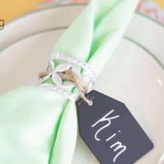 DIY Rustic Napkin Ring