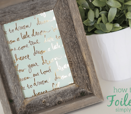 Featured Image Beautiful Foiled Art Typography