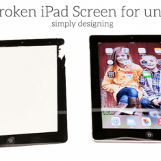 Fix a Broken iPad Screen for under $20 right now