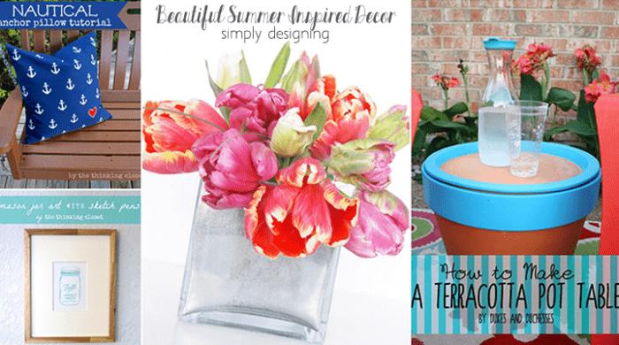 11 Beautiful Summer Inspired Decor Ideas