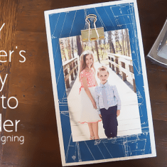 Fathers Day Photo Holder featured image