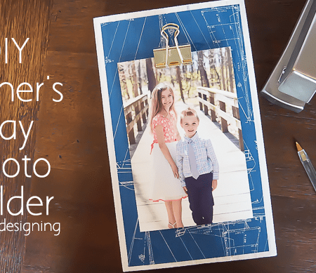 DIY Photo Holder for Fathers Day