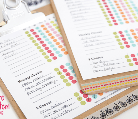 Chores for kids | Free Chore Chart Printable