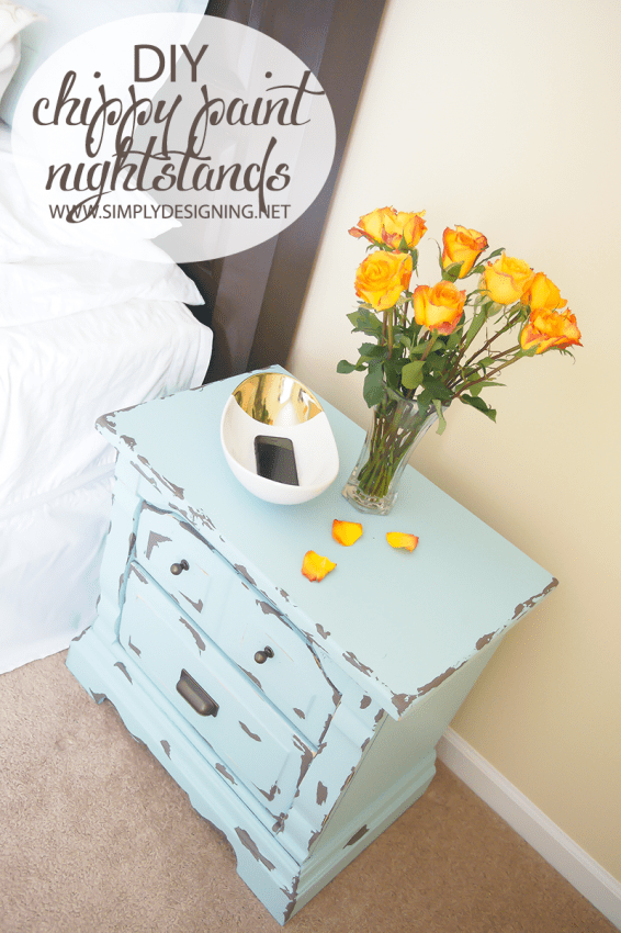 Chippy Paint Night Stand