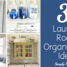 31 Laundry Room Organization Ideas